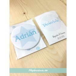 Chapas Personalizadas con Packaging