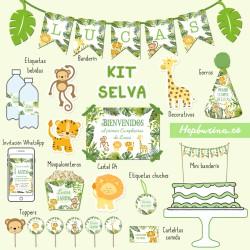Kit completo Selva
