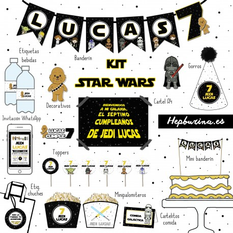 Kit Star Wars para RECORTAR