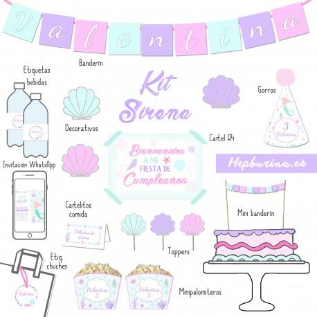 Kit completo Sirena