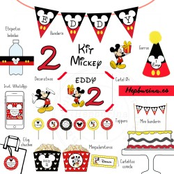 Kit completo Mickey