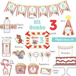 Kit Dumbo para RECORTAR