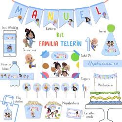 Kit completo Familia Telerín