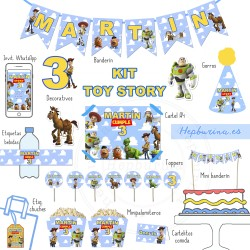 Kit Familia Toy Story DIGITAL