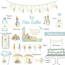 Kit Peter Rabbit para RECORTAR