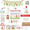 Kit completo Caperucita Roja