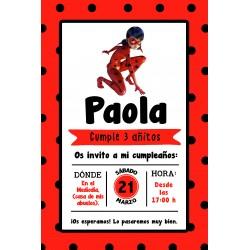 INVITACIÓN DIGITAL Caperucita Roja