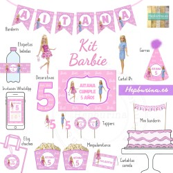 Kit Barbie DIGITAL