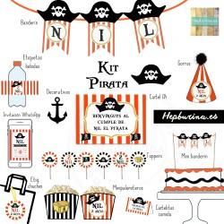 Kit Pirata para RECORTAR
