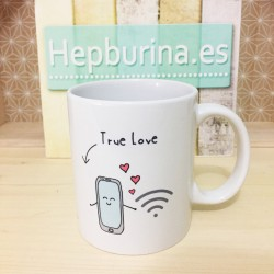 "Taza ""True Love"""