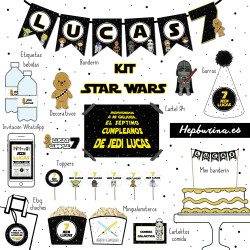 Kit completo Star Wars