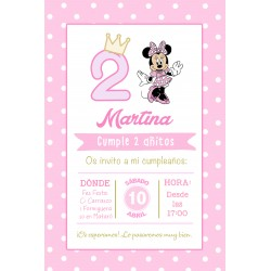 INVITACIÓN DIGITAL MINNIE