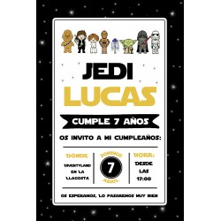 INVITACIÓN DIGITAL STAR WARS