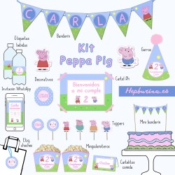 Kit completo Peppa Pig