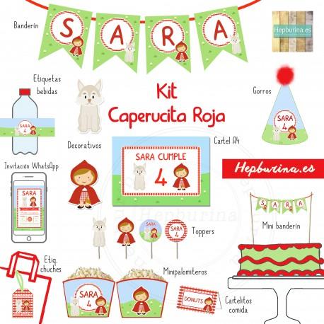Kit Caperucita Roja para RECORTAR