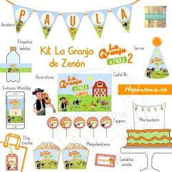 Kit La Granja de Zenón para RECORTAR