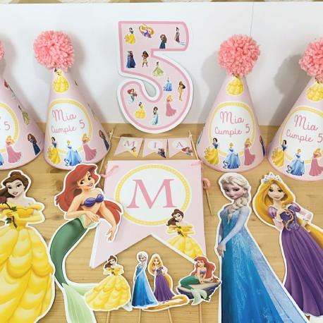 Kit montado Princesas